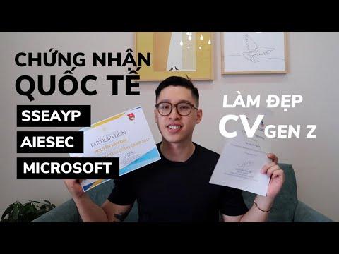 5 CHỨNG CHỈ LÀM ĐẸP HỒ SƠ XIN VIỆC | Cẩm Nang Cho Gen Z | Eric Thỏ