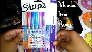 Limited Edition Electro Pop Sharpie Pen Review