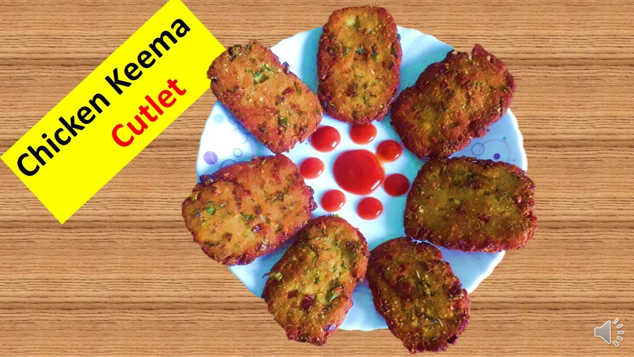 how to make mutton keema cutlets