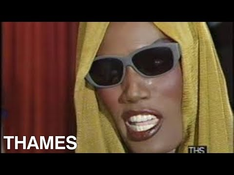 Grace Jones interview | View to a Kill Premier | James Bond | 1985
