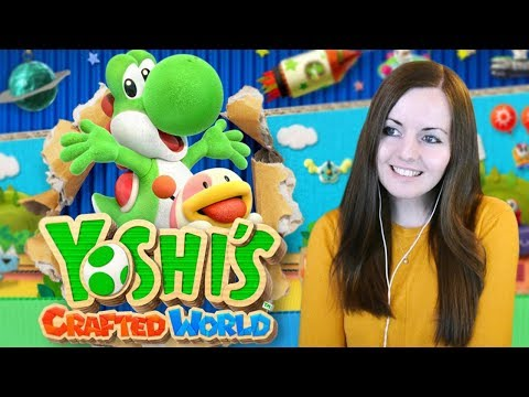 Yoshi's Crafted World - Full Demo Gameplay Walkthrough