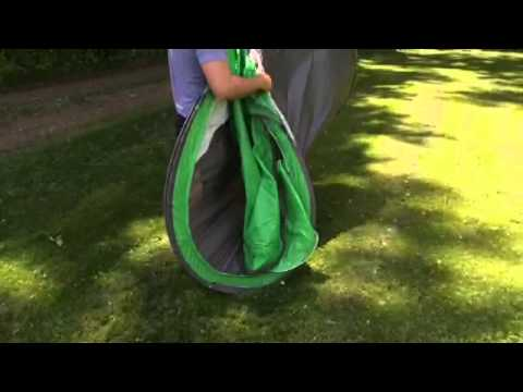 Checking out the Coleman Pop-Up Tent & How to fold and store a coleman 4 person pop up tent