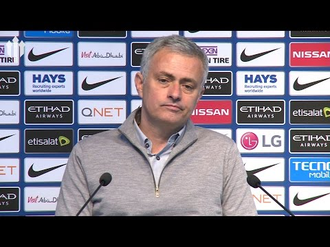 Jose Mourinho: Sergio Goes to the Floor! PRESS CONFERENCE Manchester City 0-0 Manchester United