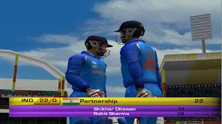 EA CRICKET 18 PC Gameplay - India Vs West Indies - 5 Overs Match Part 1