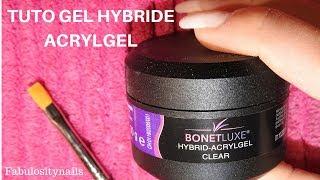 nail new methode gel hybride acrylgel