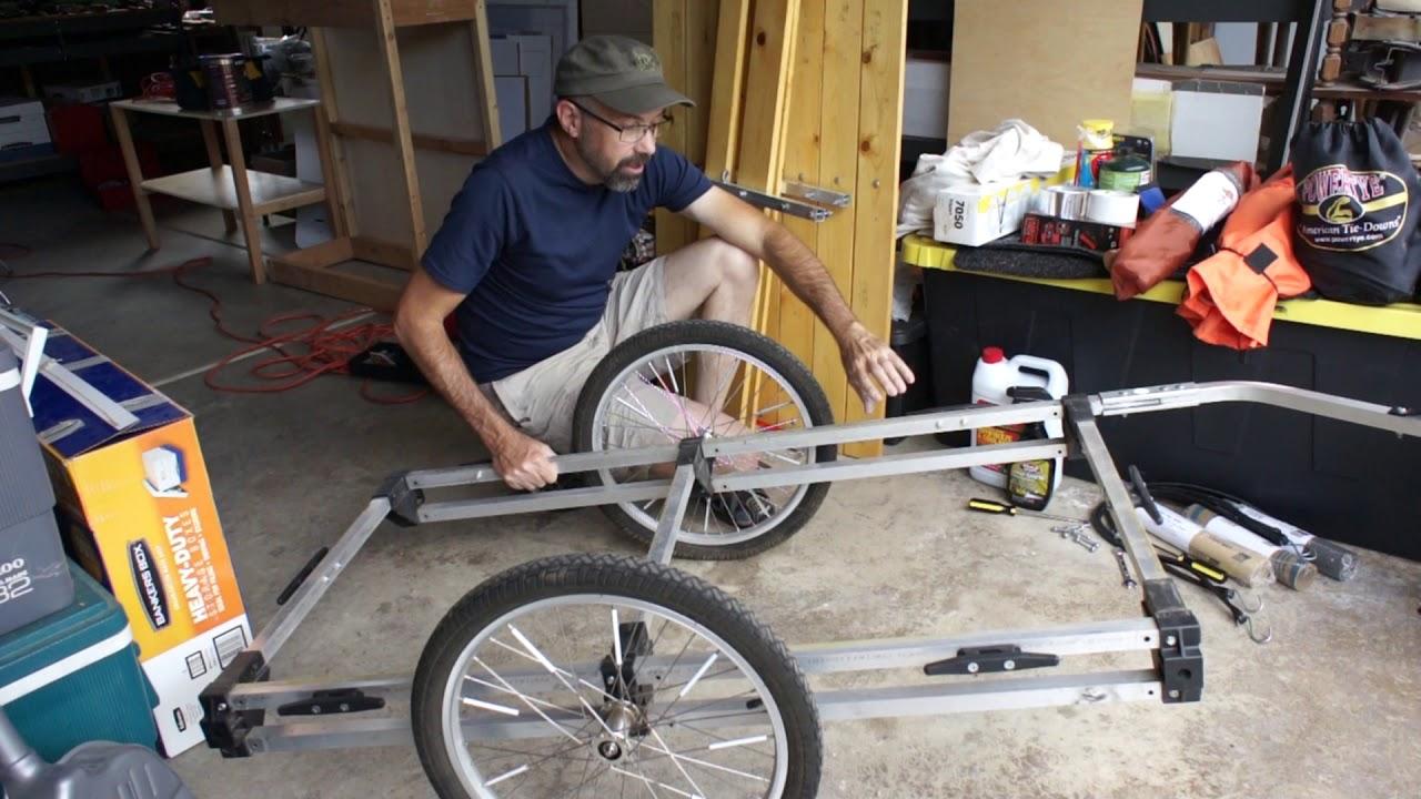 Do It Yourself Bike Trailer Kit Wike