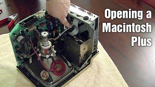 Opening a Macintosh Plus
