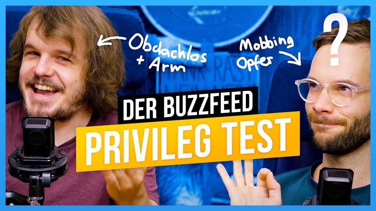 Buzzfeed checkt unsere Privilegien!