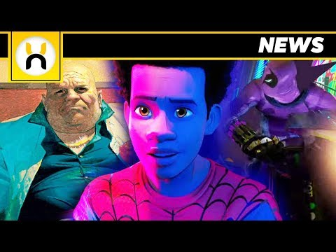 Spider-Man Into the Spider-Verse NEW Footage Description Villains and Peter Parker REVEALED