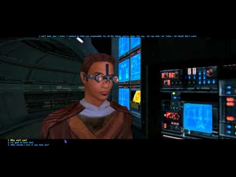 Let's Play Star Wars: Knights of the Old Republic - part 92: Chatting up the Crew