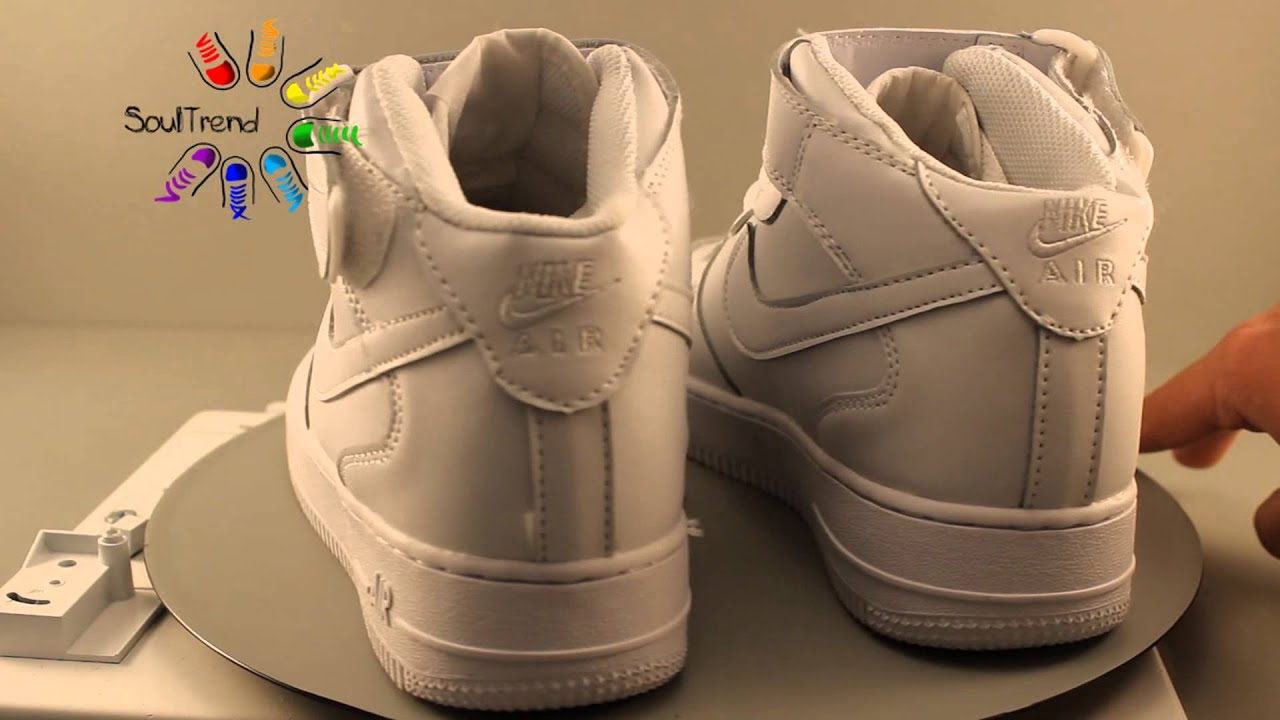 Видеообзор Nike Air Force 1 Mid '07 White (buybuy.su) - YouTube