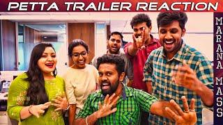 Petta Trailer Reaction | Rajinikanth | Sun Pictures