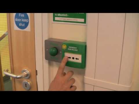emergency door release wiring diagram ford explorer trailer clfs training video: resetting an break glass unit - youtube