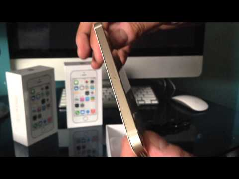 Iphone 5S Gold- Apple Canada Unboxing Rare + Giveaway Info