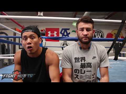 UNCUT Chris Van Heerden & Trainer react to McGregor Paulie beef, 8oz gloves, His Flaws & Prediction