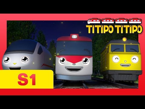 TITIPO S1 EP26 l No! Titipo says goodbye to train friends?!  l TITIPO TITIPO