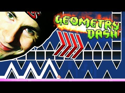 The Troll Episode: JUMPSCARES AND INVISIBLE ORBS!!!  ~ Geometry Dash INSANE EVW CHALLENGES (26)