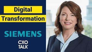Digital Transformation at Siemens USA: CEO Interview Barbara Humpton (CxOTalk #330)