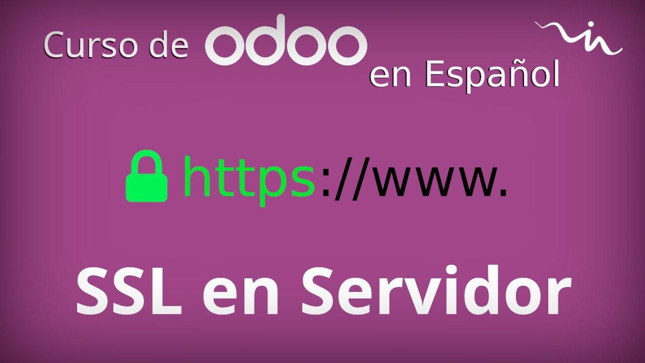 Cursos Odoo - Certificado SSL con Certbot