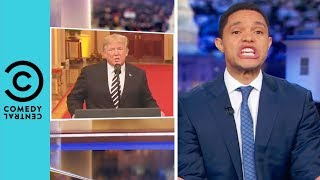 Donald Trump Apologises To Brett Kavanaugh | The Daily Show With Trevor Noah