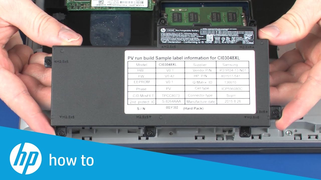 Removing And Replacing The Memory Module On Hp Probook 640