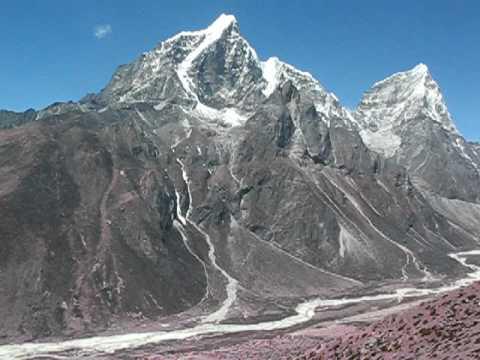 Trekking in Nepal, Everest region.  A day in paradise!