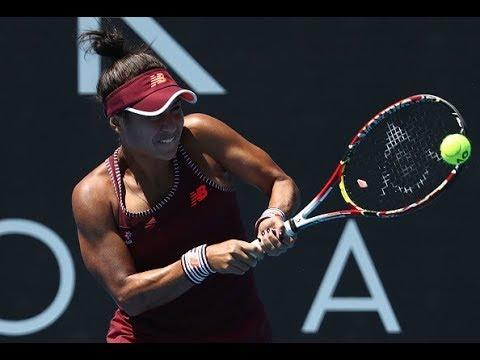 2018 Hobart International Quarterfinal | Donna Vekic vs. Heather Watson | WTA Highlights