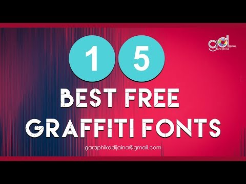 15 Best Free Graffiti Fonts