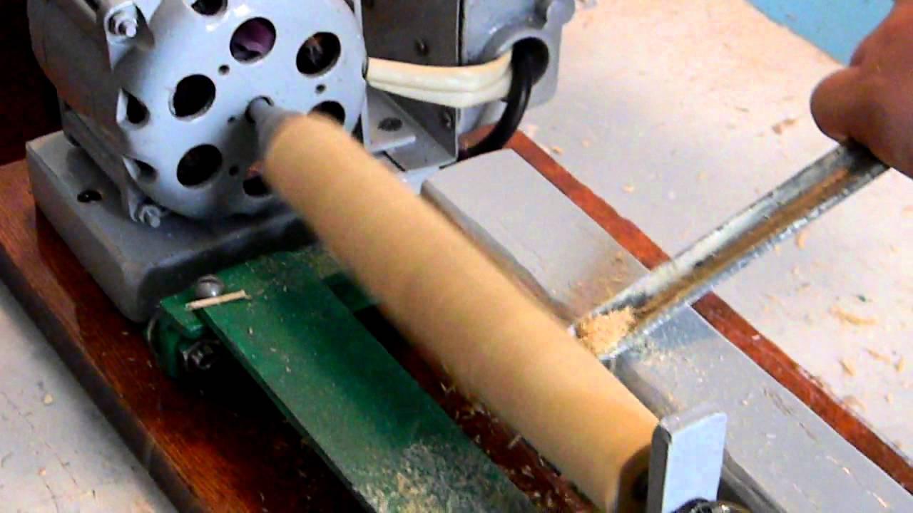 Видео как сделать токарный станок