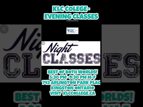KLC COLEGE- EVENING CLASSES