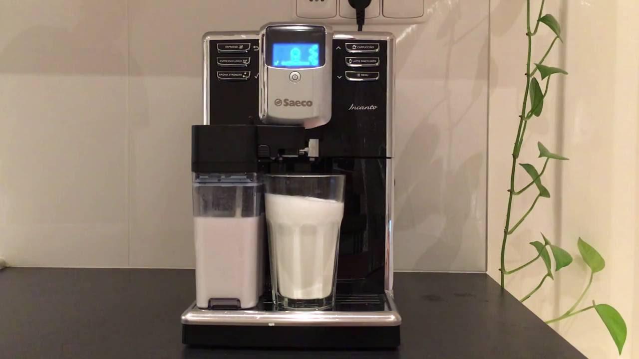2def1944912f Saeco Philips Incanto HD8916 09 - Coffee Making (Espresso + Latte ...