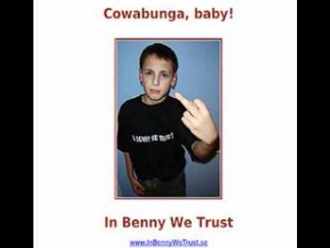 Det här är mitt långfinger - In Benny We Trust