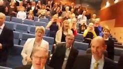 Angelniemen Ankkurin 70-vuotisjuhlan musikaalinen taukojumppa
