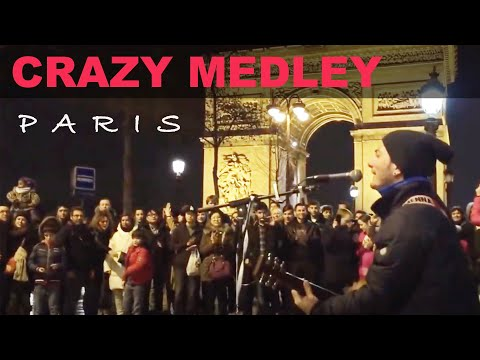 Medley (Let it be - No woman no cry - Nossa nossa - Dont worry, be happy - Lemon tree) at Paris