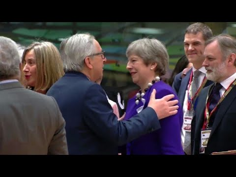 EU leaders gather in Brussels to discuss Brexit transition