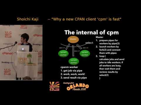 "Why a new CPAN client ""cpm"" is fast"