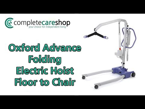 Oxford Advance Folding Electric Hoist - From floor to chair