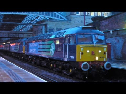 DRS 47853 and 47828 on the Cruise Saver Express 02-12-12
