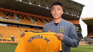 Dongda He On Signing For Wolves