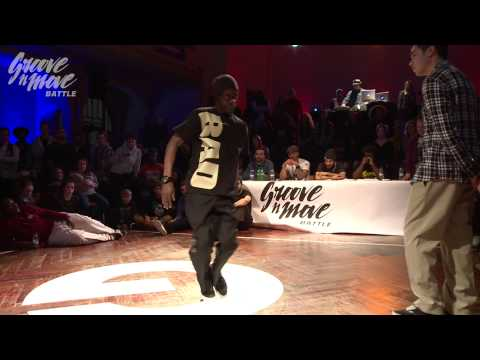 GROOVE'N'MOVE BATTLE 2015 - Popping round of sixteen / Phil Boog vs Seng'Kit