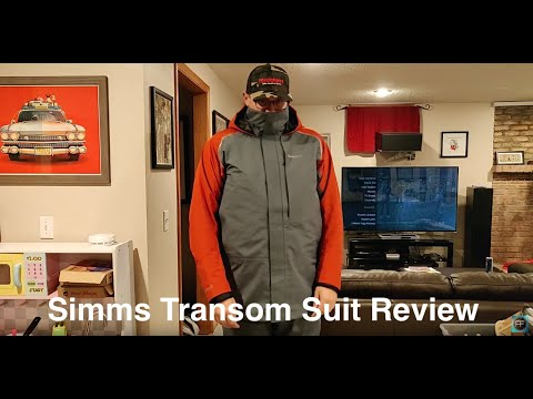 Simms Transom Jacket & Bib REVIEW - Fishing Rain Suit