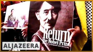 🇦🇺 Lawyers in Australia try to prosecute Aung San Suu Kyi   Al Jazeera English