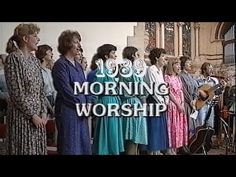 1989 Morning Worship from Holy Trinity Leicester - Building Project