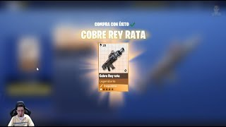 Turn your RATA KING into a TOP Weapon Save the World Maximum Power 130 FORTNITE