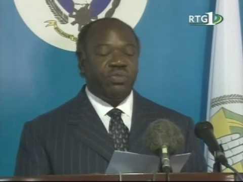 Paul Ndiho -- Gabon Post Election Violence