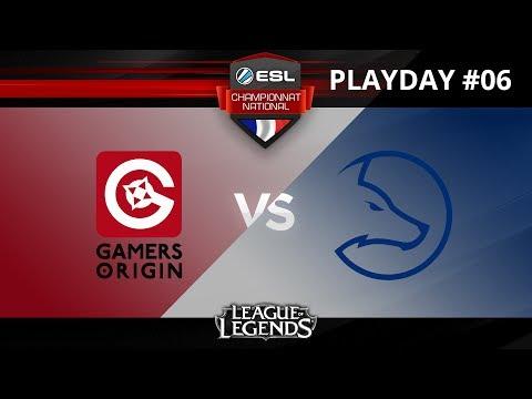 LoL - GAMERS ORIGIN vs TEAM LDLC - ESL Championnat National - Summer 2017