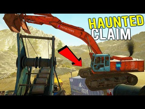 GOLD MINING IN A HAUNTED CLAIM? Dealing With Possessed Equipment - Gold Rush Full Release Gameplay