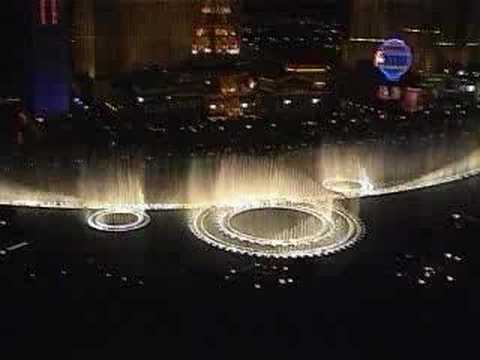 Bellagio fountains do...MISSION IMPOSSIBLE THEME!