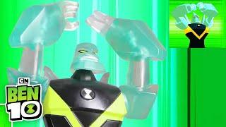 Ben 10 vs. Hex Stop Motion | Ben 10 | Cartoon Network