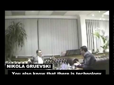 Zoran Zaev blackmails former Macedonian PM Nikola Gruevski with wiretapped materials